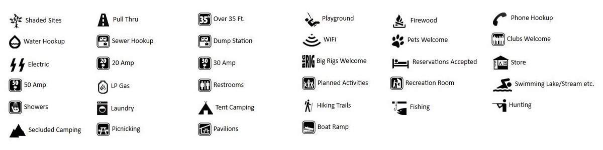 River's Edge RV Campground - Holt FL - Amenities